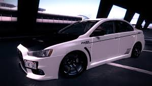 mitsubishi evo modded gta gaming archive