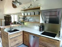 meuble cuisine bois brut cuisine bois naturel cuisine en par porte meuble cuisine bois brut