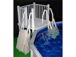 ladders above ground inground swimming pool