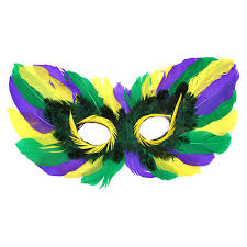 mardi gras mask with feathers mardi gras feather eye mask