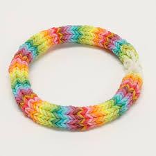 bracelet rainbow looms images 7 quot rainbow hexafish rainbow loom bracelet other jpg