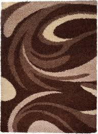 Modern Pattern Rugs by Rio Rug Collection Modern Pattern 3741a Brown New Mons Direct
