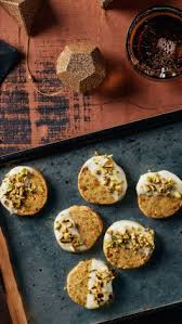 watch how to make dipped pistachio christmas cookies epicurious