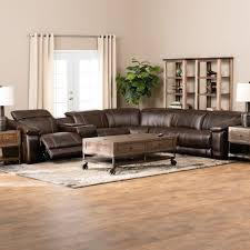 perfect reclining leather sectional sofa shop jamestown leather