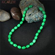 natural stone statement necklace images Kcaloe dark green chinese stones statement necklace handmade jpg