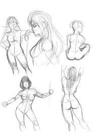 female sketch by israel92 on deviantart