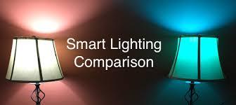 ge link light bulb tested an epic comparison of smart light bulbs philips hue versus