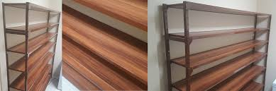Wood Pantry Shelving by Naples Custom Shelving Office Pantry Garage Built Ins
