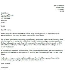 format two weeks notice letter resignation letter exle with 2