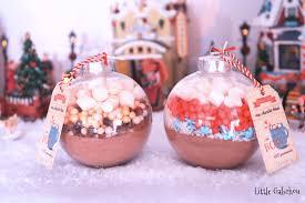 cadeau noel cuisine idée cadeau de noël à faire soi même les boules chocolat chaud