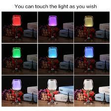 light wine glasses led colorful flashing acrylic blinking