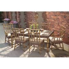 Whitecraft Patio Furniture Woodard Whitecraft Sommerwind Dining Set Five Piece Whitecraft