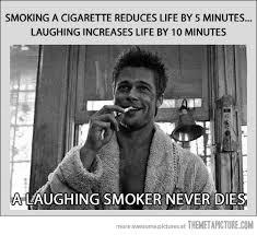Smoking Meme - smoking a cigarette reduces life by 5 minutes az meme funny