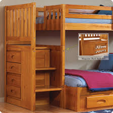Discovery Bunk Bed Discovery Furniture Bunk World Honey Staircase
