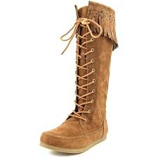 womens boots rocket rocket verona womens size 8 5 brown fashion knee high boots