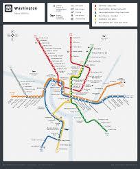 Metro Maps Nashville by Washington Metro Map On Behance Routes Pinterest Behance