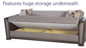 istikbal alfa three seat sofa sleeper with storage in redeyef