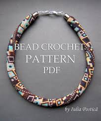 bead crochet necklace patterns images 1332 best beaded necklace images beaded necklaces jpg