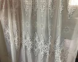 lace curtains etsy
