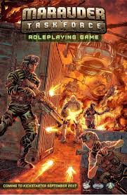 video game quote database marauder task force roleplaying game kickstarter is live