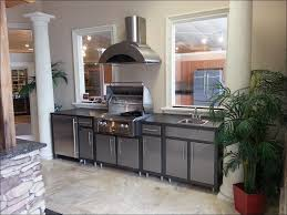 kitchen exterior cabinets bbq island plans patio grill rustic