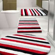Bathroom Rug Sets Walmart Valuable Ideas Red Bathroom Rug Set Simple Decoration 3 Piece