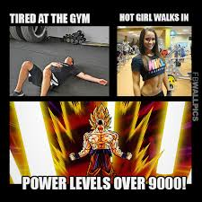 Girls At The Gym Meme - hot girl walks into the gym fitness meme facebook wall pic