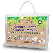Organic Cotton Crib Mattress Pad 100 Organic Cotton Crib Mattress Protector