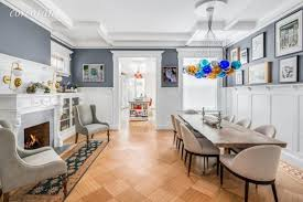 The Dining Room Brooklyn Emily Blunt And John Krasinski Selling Four Story Remodeled Townhouse