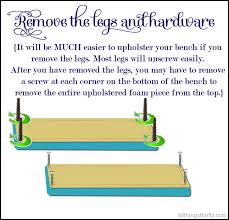 How Much To Bench Diy How To Upholster A Bench All Things Thrifty