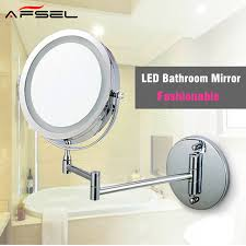 extending bathroom mirrors aliexpress com buy afsel makeup mirrors led wall mounted