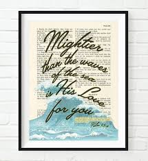 Scripture Wall Art Home Decor by Amazon Com Vintage Bible Verse Scripture Mightier Than The