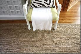 Sisal Rugs Pottery Barn Heathered Chenille Jute Rug From Pottery Barn It Is Soft On Your