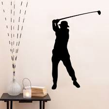 online get cheap vinyl sports quotes aliexpress alibaba group xcm hot caved tagore woods golf player sports star wall stickers pvc vinyl removable quotes