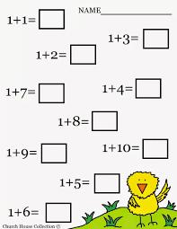 free printable kindergarten worksheets preschool math for addition