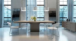 contemporary table wenge rectangular extending astor modloft