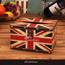 decorative tissue box tissue box square column woodern leather painting best