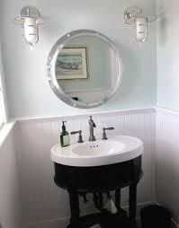 nautical bathroom mirrors nod to nautical bathroom gorgeous porthole mirror medicine cabinet http www completely