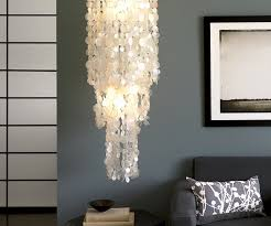 Chandelier Room Decor Fascinating Home Lighting Fixtures Capiz Shell Chandelier Ideas