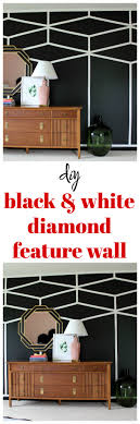 kitchen feature wall paint ideas diy black and white feature wall