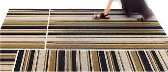Chilewich Doormats Chilewich Indoor Outdoor Shag Mixed Stripe Floor Mat U2014 In 4 Colors