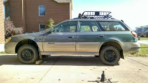 subaru baja lifted unfortunately my springs did settle after installing the 2