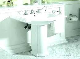 pedestal sink bathroom ideas pedestal bathroom sinks pedestal sink storage cabinet pedestal sink