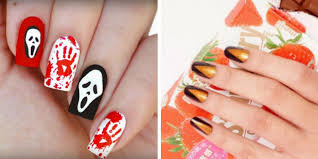 50 spooktacular halloween nail art ideas
