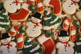 beautiful christmas cookies christmas lights decoration