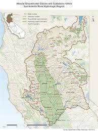 Sacramento California Map Sacramento River Hydrologic Region