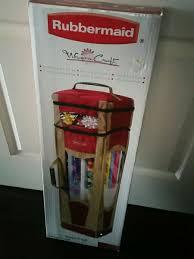rubbermaid wrap n craft used rubbermaid wrap n craft box in brton