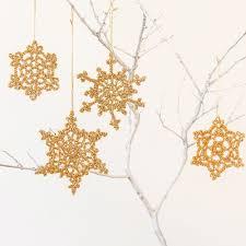 crochet snowflake ornaments by paul