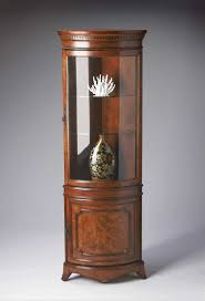 Kitchen Cabinets Mahogany Curio Cabinet Lighted Curio Corner Cabinet Best Images On