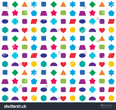 colorful kids seamless pattern background color stock vector